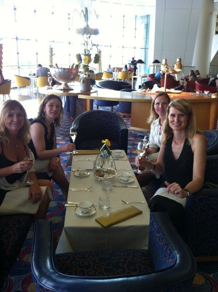 Afternoon tea at the Burj