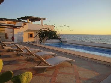 Our seaside, poolside villa