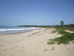 Beach at Sandele