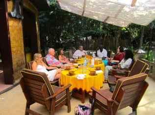 Meal time at Sandele