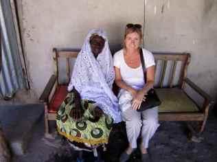 With the Al Kolo (mayor) at Jufureh
