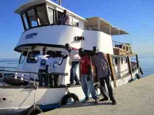 Boat crew to Jufureh