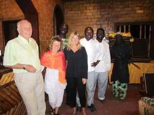 The Sandele team (some)