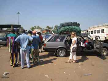Shared taxi to Guinea-Bissau