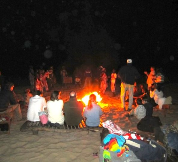 New Years on the beach
