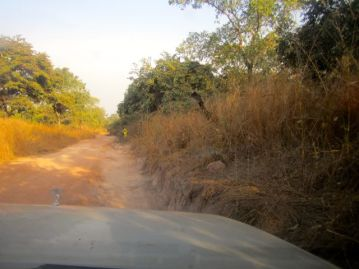 National Highway to Guinea