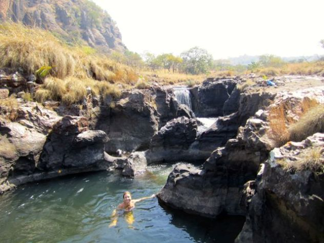 And rock pools