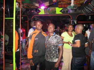 Nightclub with Bashir