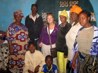 Visiting the family of Bashir