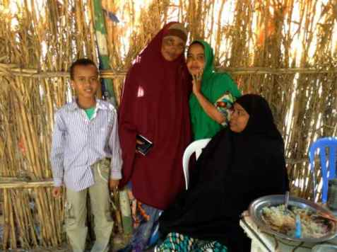 My lunch companions - Somaliland