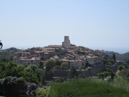 The walled village of St Paul