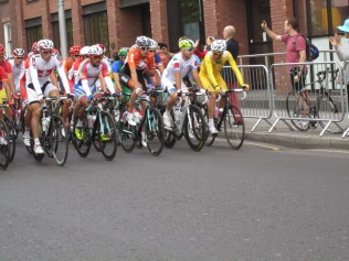 Start of the mens road race