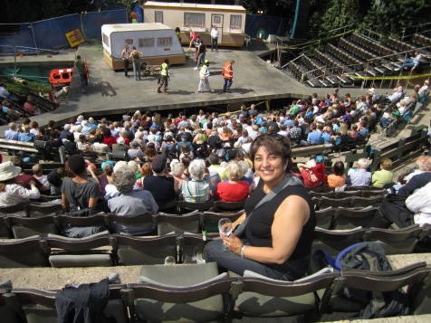 Amee at Shakespeare in the park