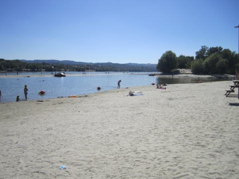 Danube Beach, Serbia