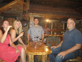 Enjoying Serbian wines