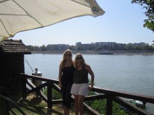 With Marijana at the Danube