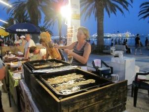 Split street food