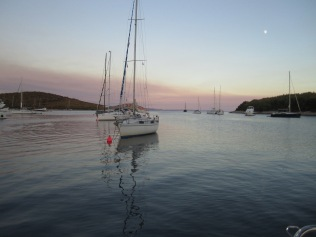 A secluded mooring