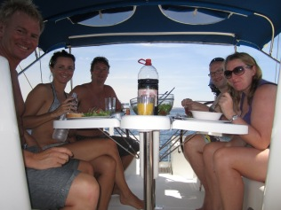 Meals on the boat