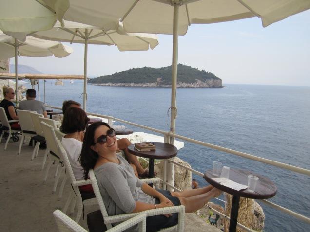 Alana enjoying the scenery