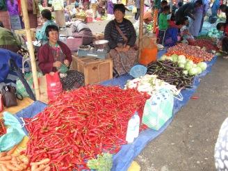 Paro market, Bhutan