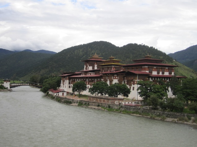 The Dzong - heart of Bhutanese towns