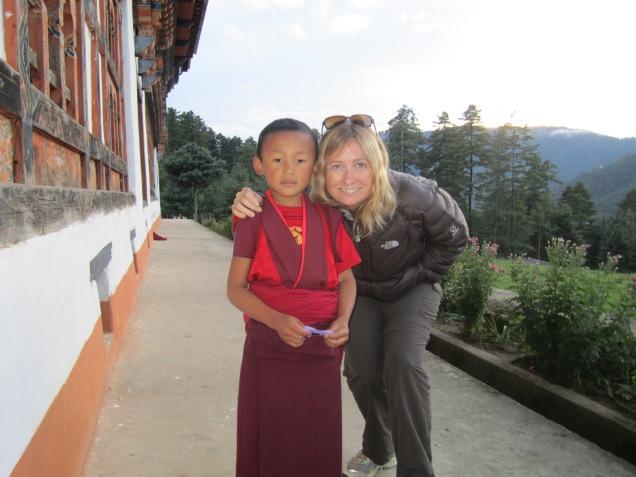 Monk child