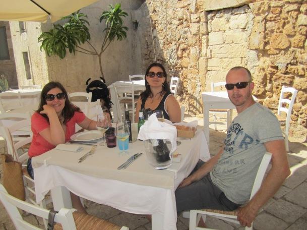 Lunch at Mazemena