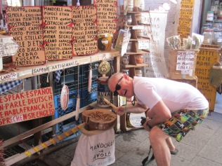 Rob at the market