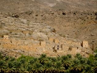 Rock hewn villages