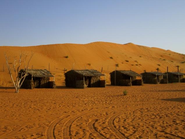 Wahiba Sands camp