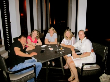 Fine dining at El Chedi