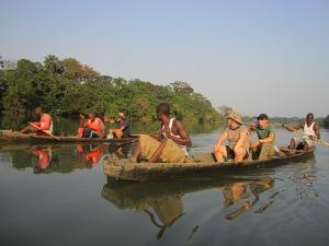 Canoeing the Moa
