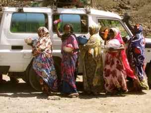 Somali women in Djibouti