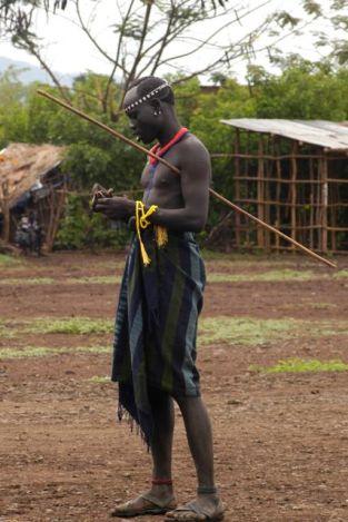 Bodi man - also with stick