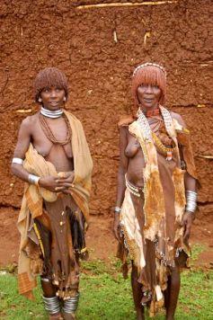 Traditional Hammer women at Dimeka