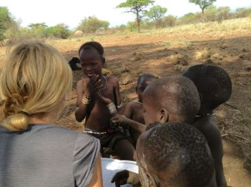 Learning Mursi from the kids