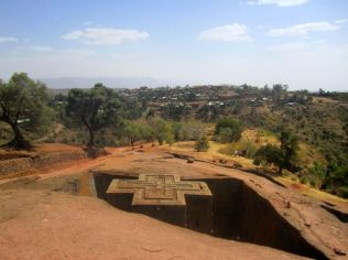 St George church at Lalibela
