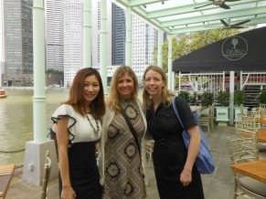 HBS girls - Jen, Anne and myself