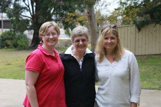 My mum, sister and I