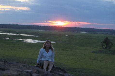 Sunset at Ubirr Rock