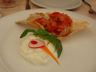 Incredible burrata