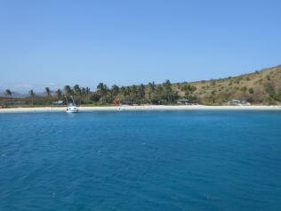 Island beaches off Port Moresby