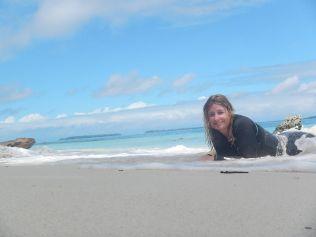 Beach baby!