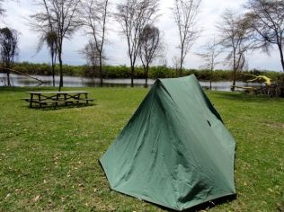 My camp at Lake Naivasha