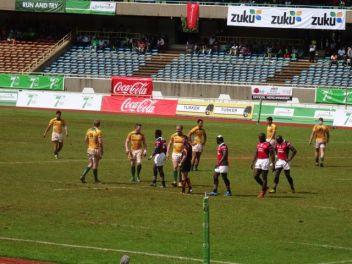 Australia and Kenya - Rugby Sevens