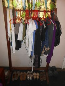 My lovely lovely clothes rack!