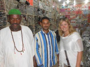 Blanket shopping in Obdurman Market
