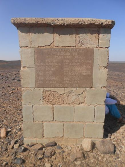 Battle of Abu Klea memorial