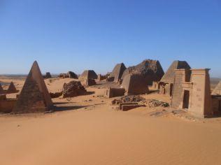 Pyramids at Meroe